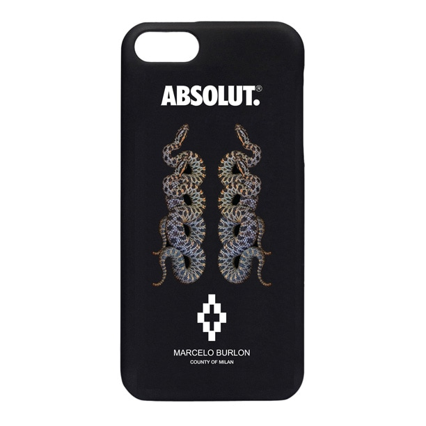 La cover Marcelo Burlon e Absolut in vendita da Antonioli