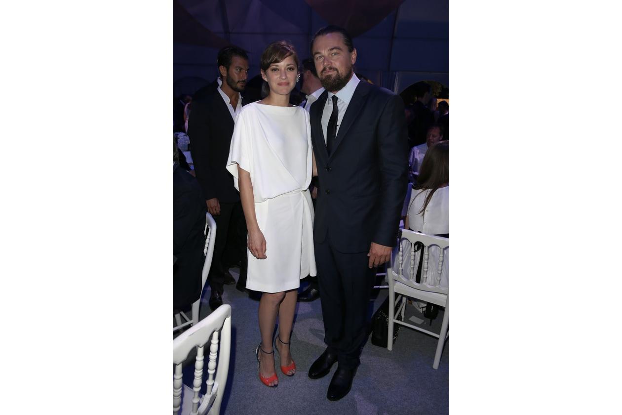 Leonardo DiCaprio Foundation Gala Marion Cotillard Leonardo DiCaprio