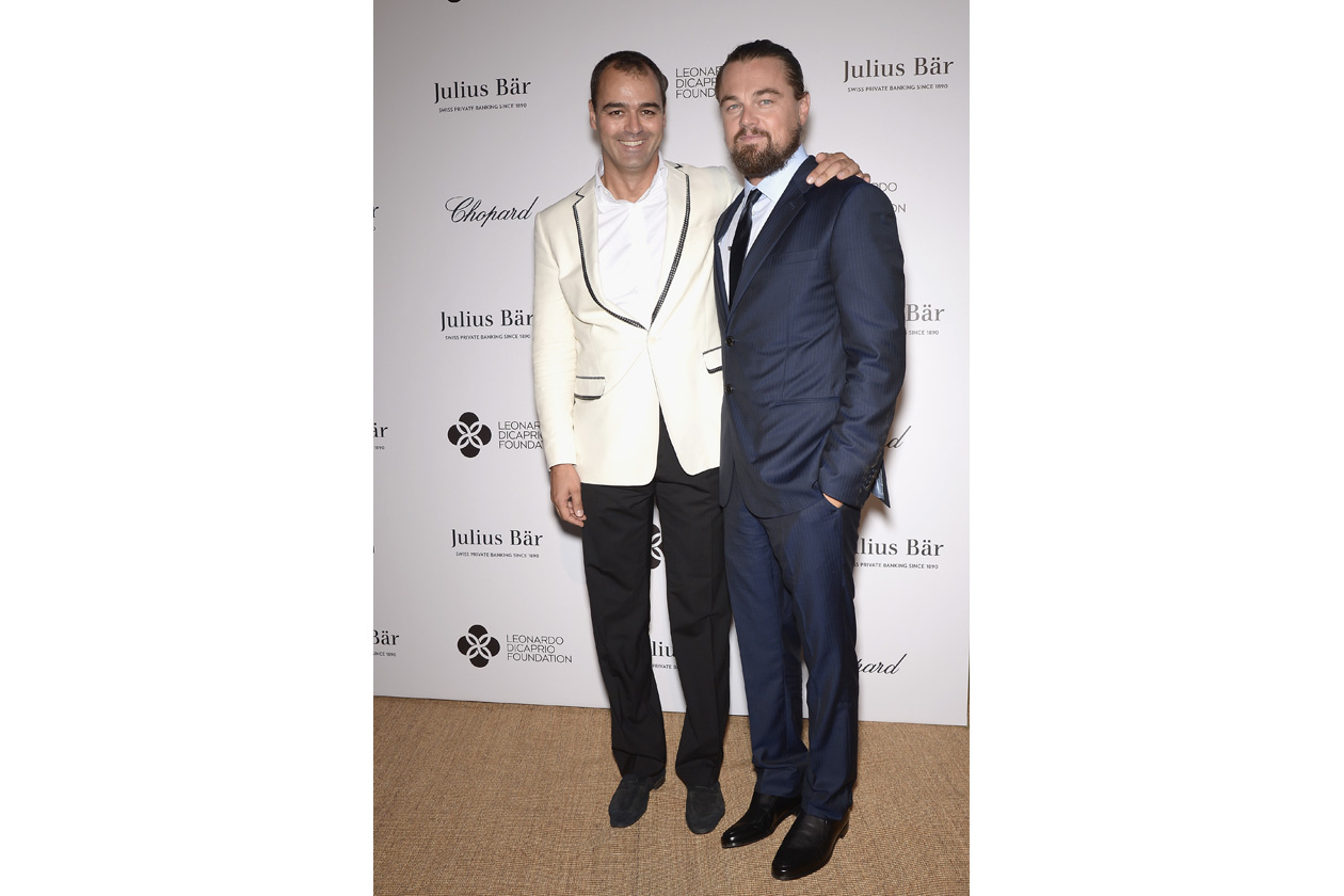 Leonardo DiCaprio Foundation Gala Milutin Gatsby Leonardo DiCaprio