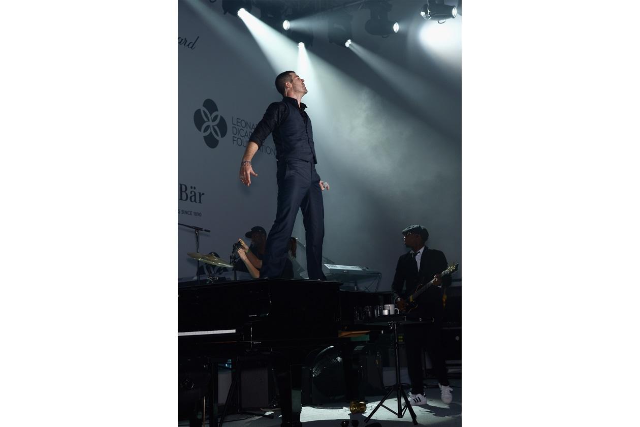 Leonardo DiCaprio Foundation Gala Robin Thicke