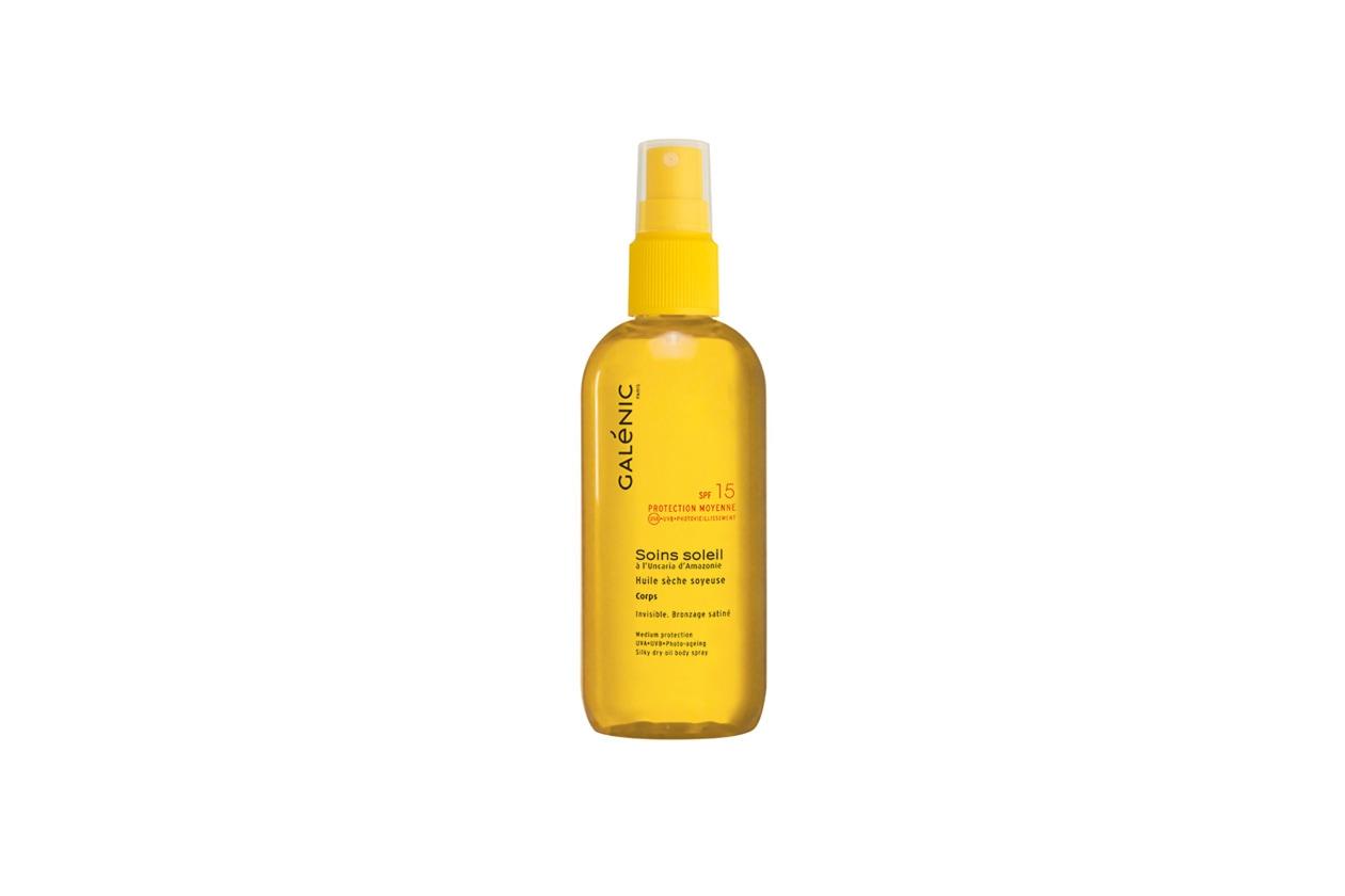 Lo Spray olio secco corpo di Galenic: un altro must have per questa estate 2014