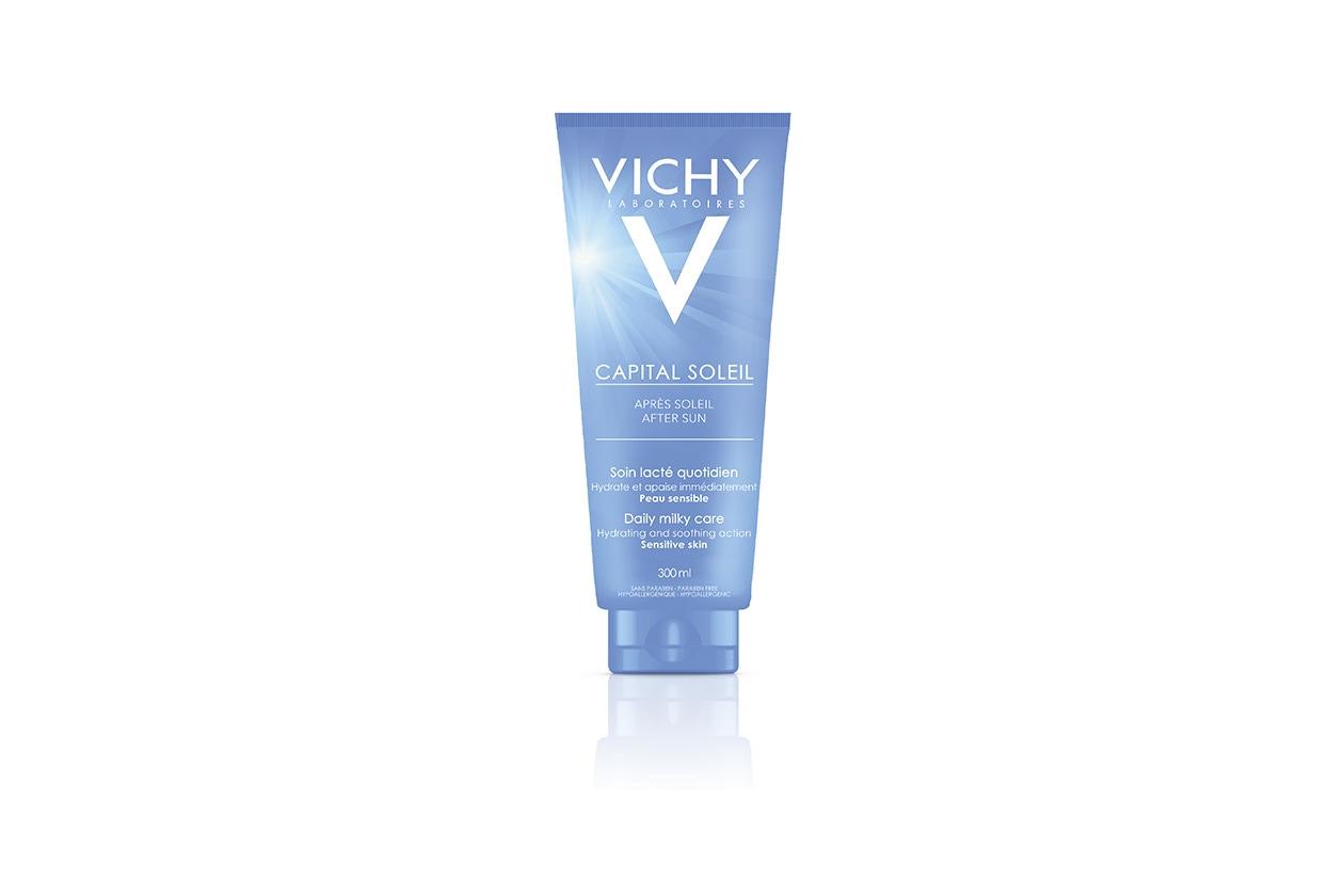 MASSIMA IDRATAZIONE: Vichy Capital Soleil After Sun Daily Milk Care è un gel-latte idratante fresco capace di compensare la disidratazione