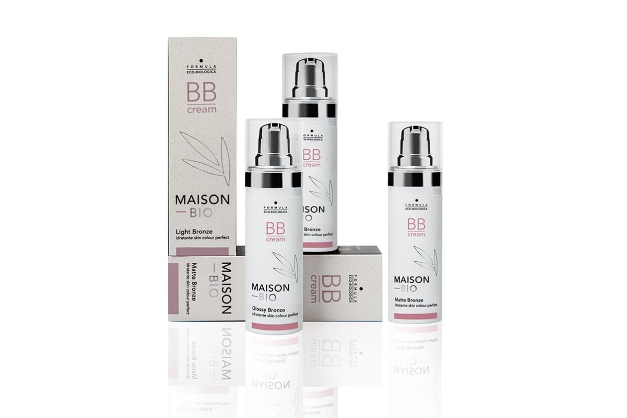 Maison Bio ha pensato tre diverse BB Cream che rispondono a più esigenze