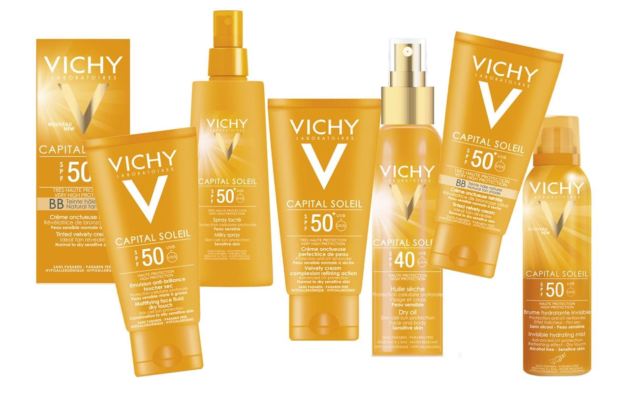Massima protezione grazie a un sistema filtrante brevettato al Mexoryl XL. Dallo spray alla crema fino alla BB Cream. Tutto by Vichy
