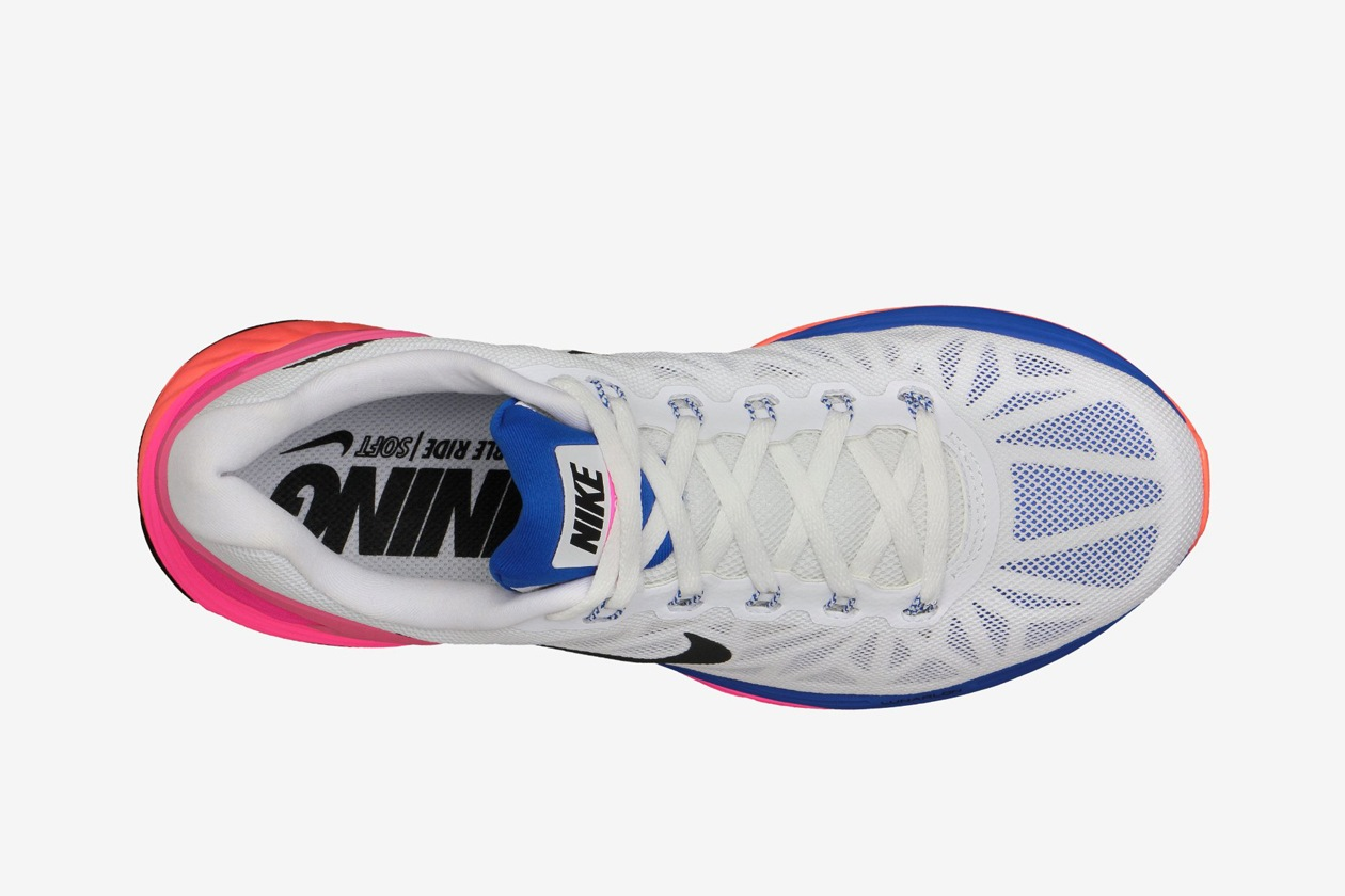 Nike LunarGlide 6 Womens Running Shoe 654434 101 D