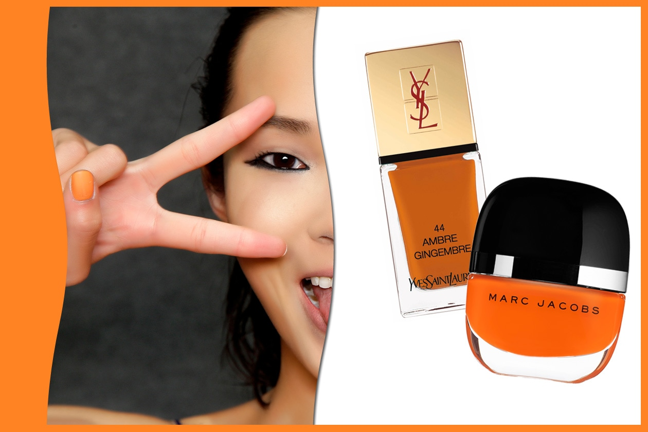ORANGE!: Just Cavalli – Yves Saint Laurent – Marc Jacobs Beauty