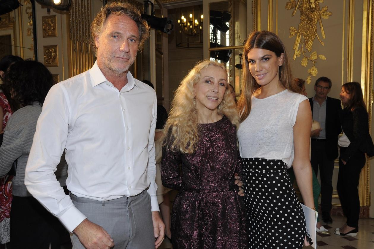 Oskar Metsavaht & Franca Sozzani & Bianca Brandolini D'Adda