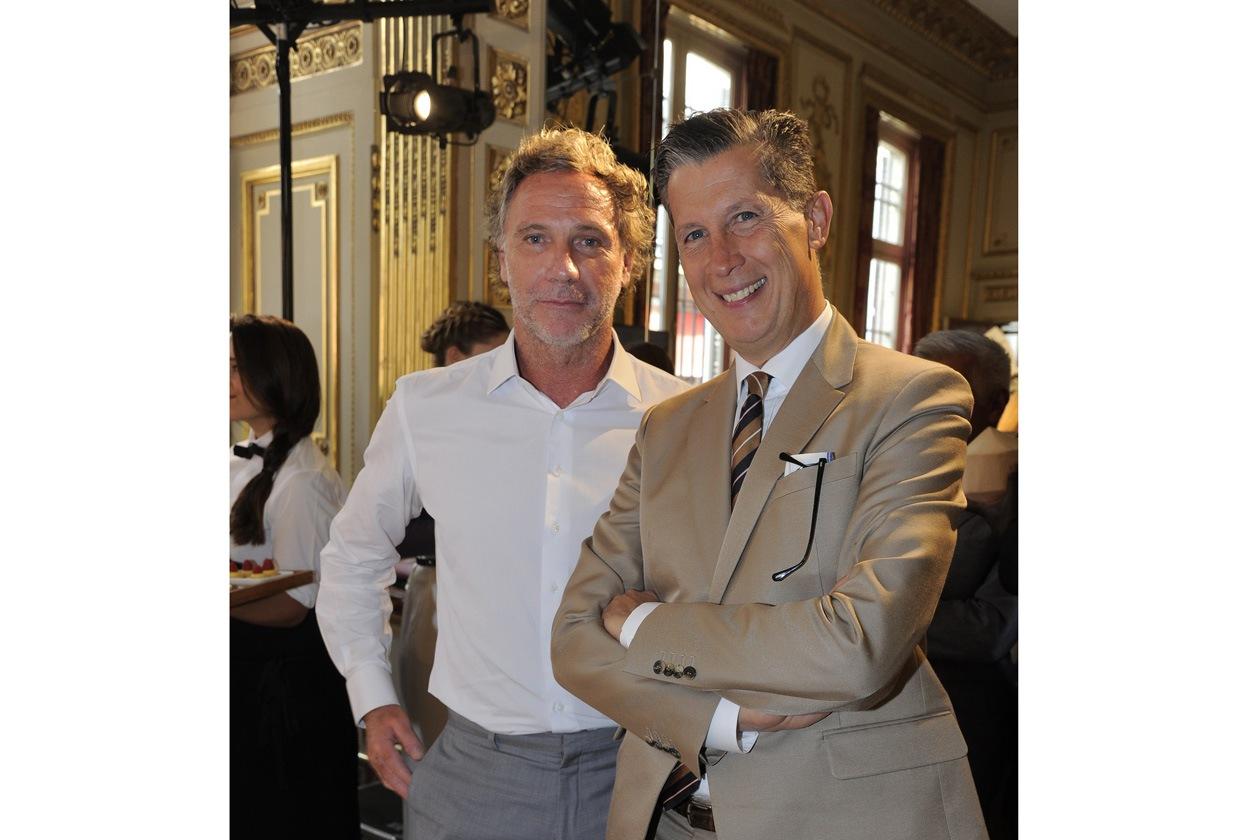 Oskar Metsavaht & Stefano Tonchi