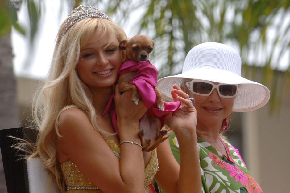 Paris Hilton e Tinkerbell