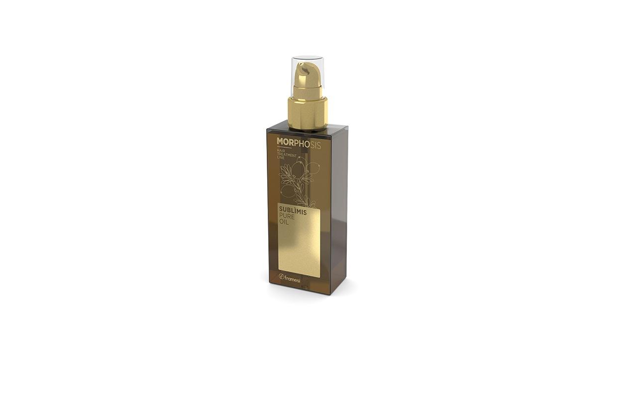 Prodotti per avere capelli forti e lucenti: Framesi Morphosis Sublìmis Oil Pure Oil