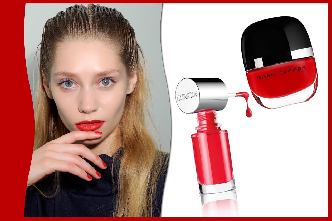RED PASSION: Antonio Berardi – Clinique – Marc Jacobs Beauty