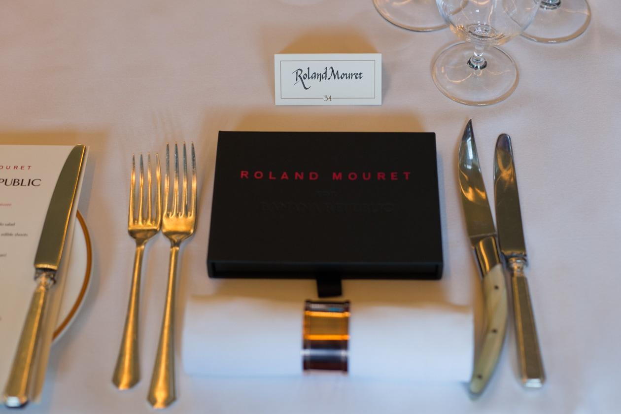 Roland Mouret Press Dinner 5