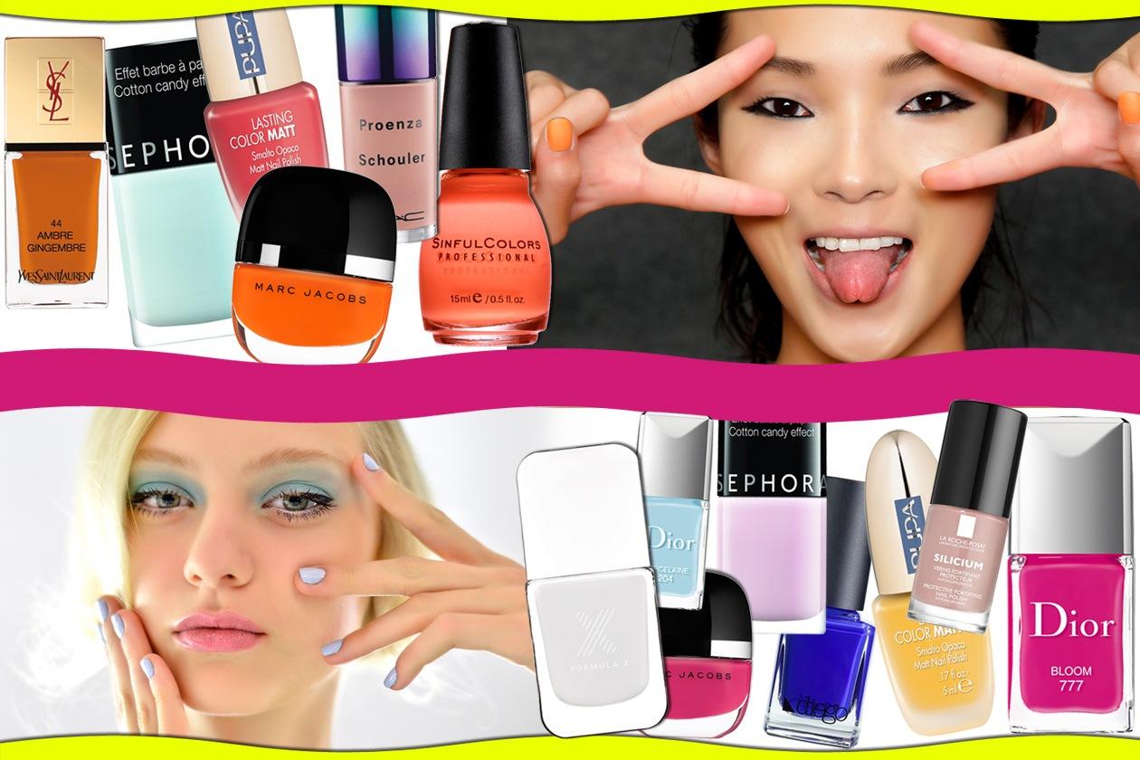 Smalti estivi: i colori di tendenza. Scegliete la vostra nuance preferita tra quelle selezionate da Grazia.IT