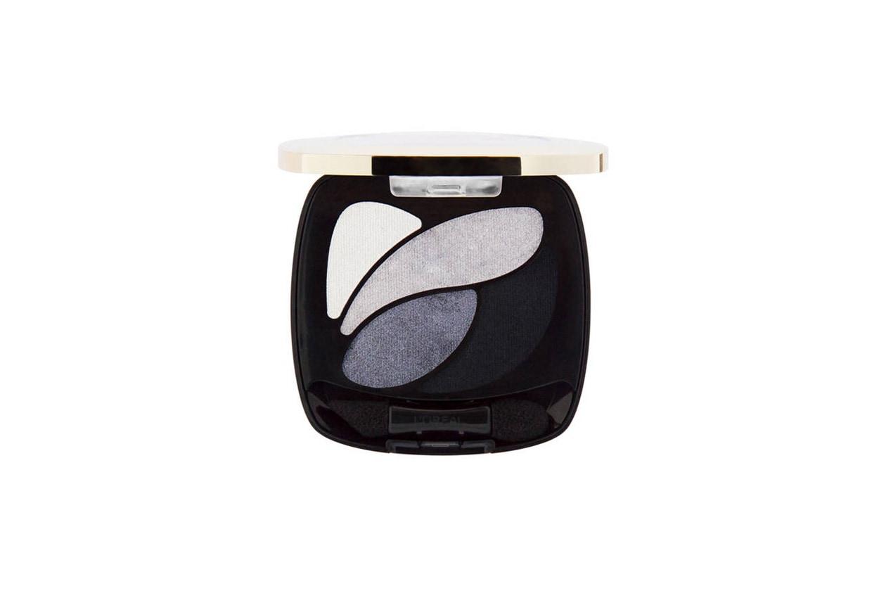 Smokey Eyes freddo L'Oréal Paris Smoky Quad Velours Noir