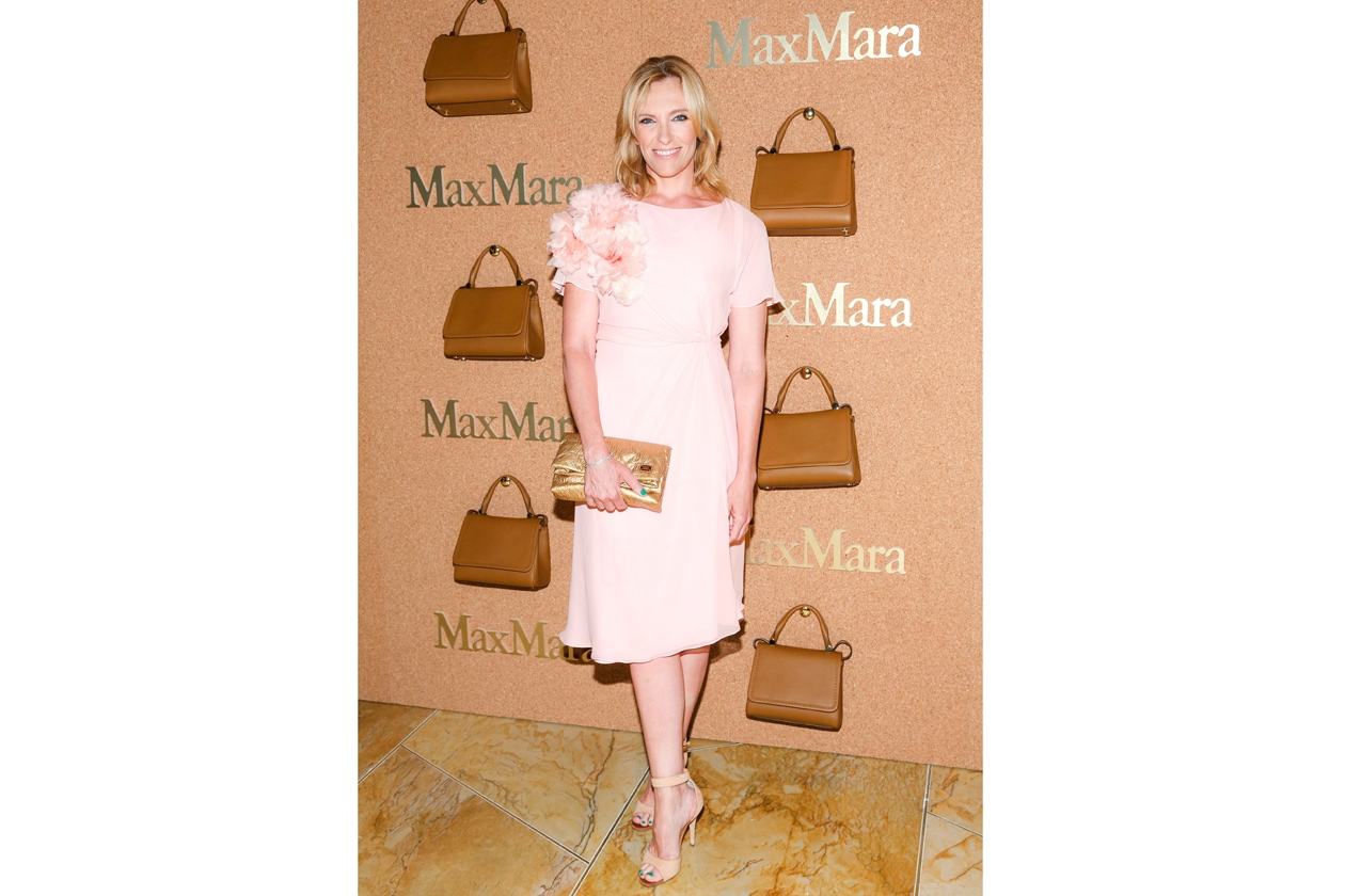 Toni Collette in Max Mara
