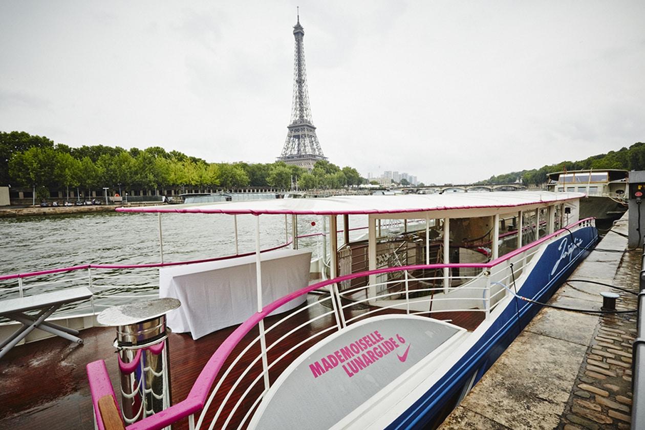 Tutte a bordo Mademoiselle LunarGlide!