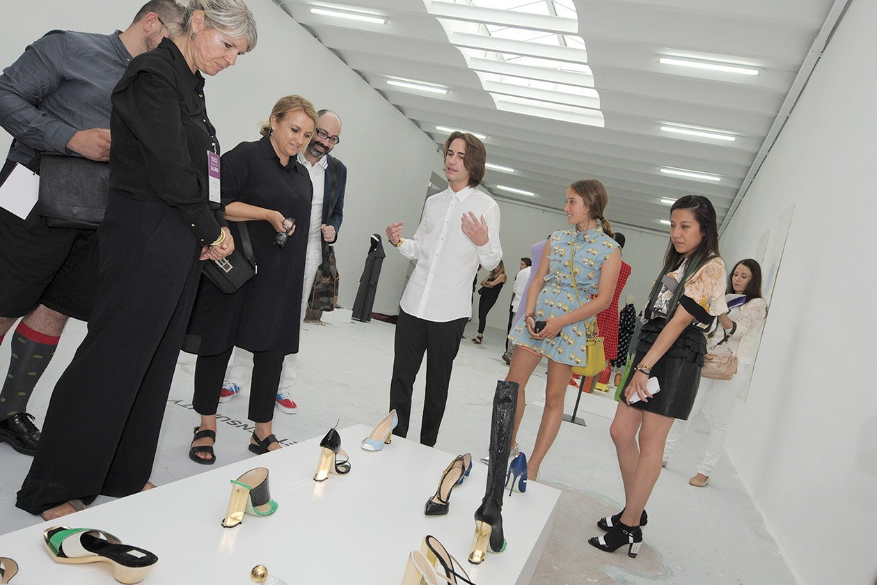 ARI 5952 designer Giannico, Clara Tosi Pamphili, Silvia Fendi, Leonetta Luciano Fendi web