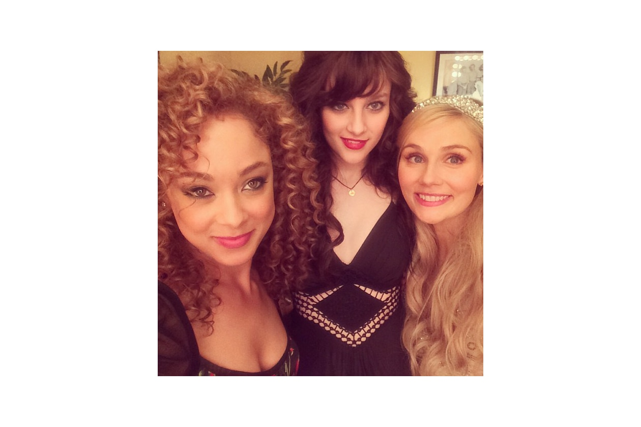 instagram3 w Clare Bowen chaley rose