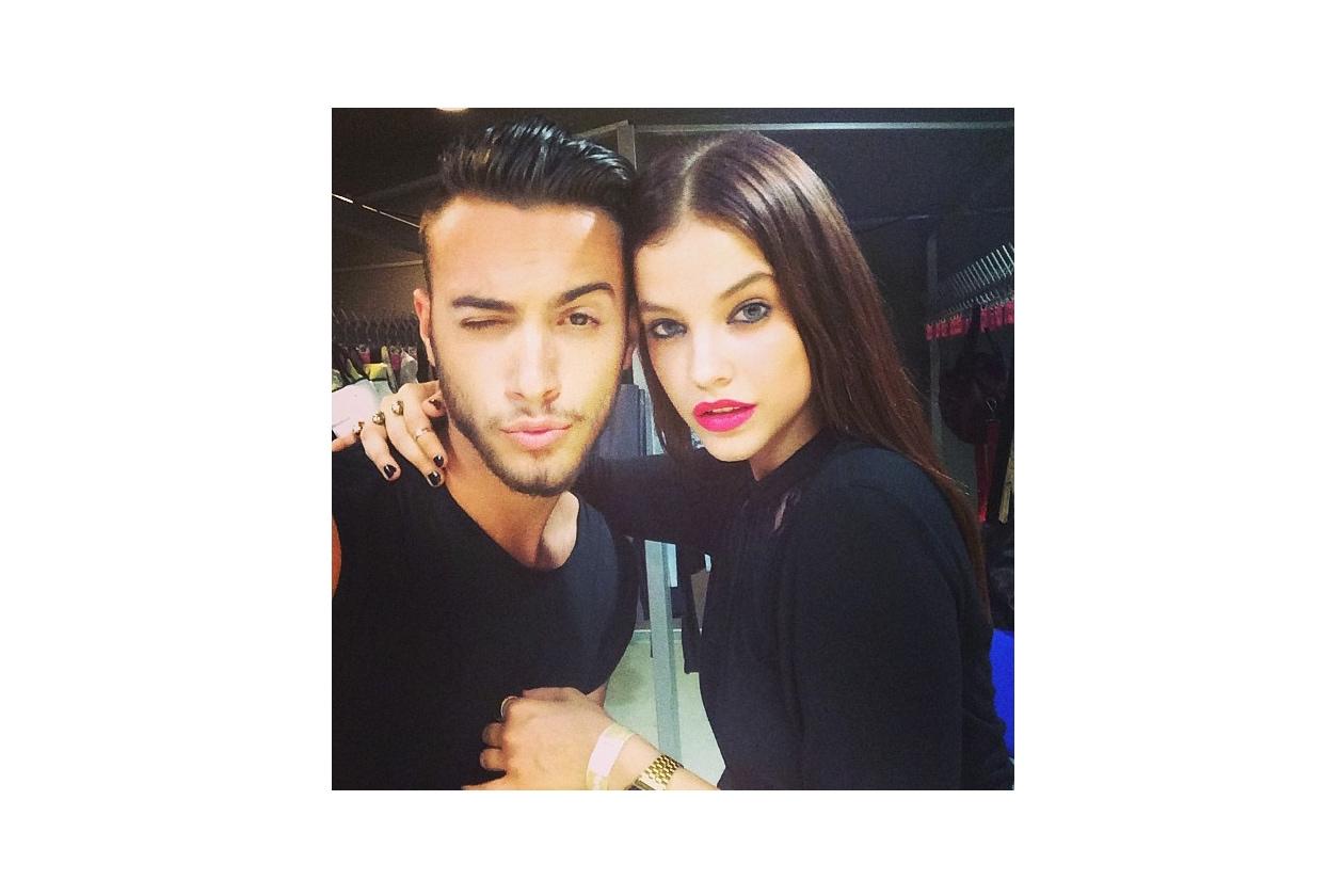 barbara palvin instagram w Mate Szabo