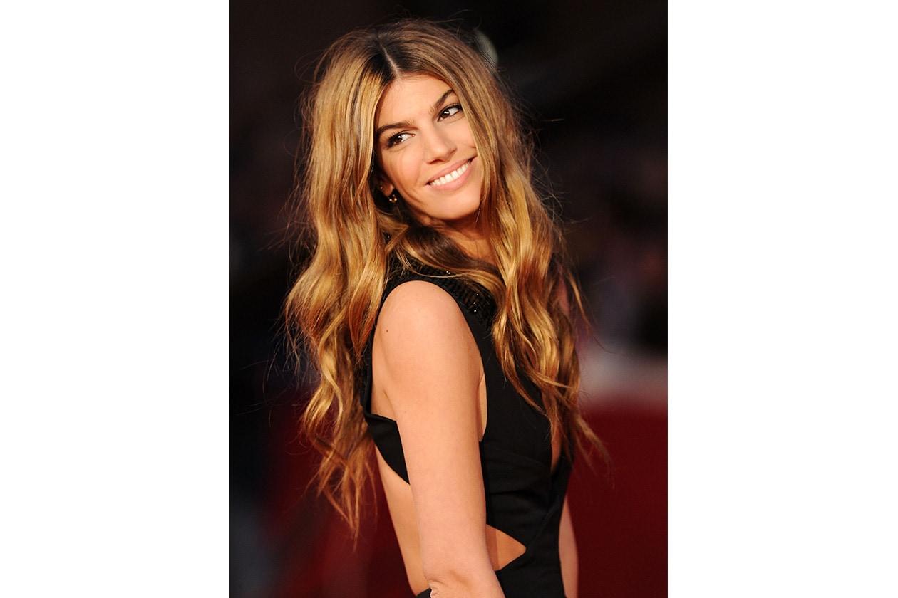 UNA CHIOMA LUCIDA E PERFETTA: luminosi, sempre lunghi e morbidi sulle spalle: i capelli di Bianca Brandolini D'Adda sono sempre perfetti (2010)