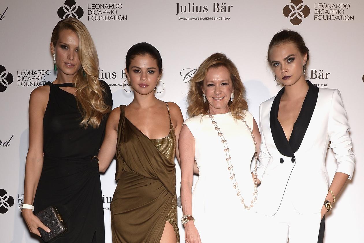 cover Leonardo DiCaprio Foundation Gala Petra Nemcova Selena Gomez Caroline Scheufele Cara Delevingne