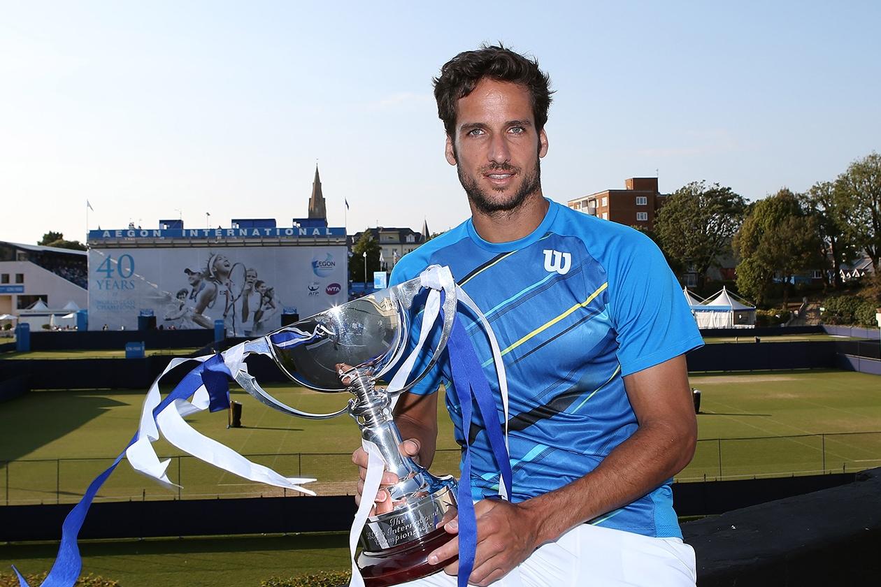 Primo posto: lo spagnolo Feliciano Lopez