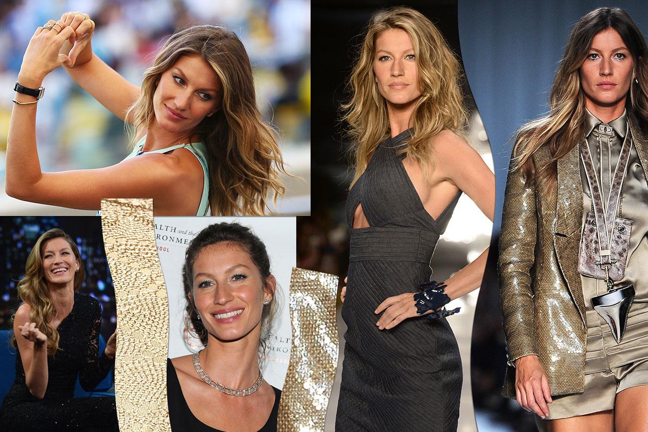 Beauty Gisele bundchen 00 Cover collage