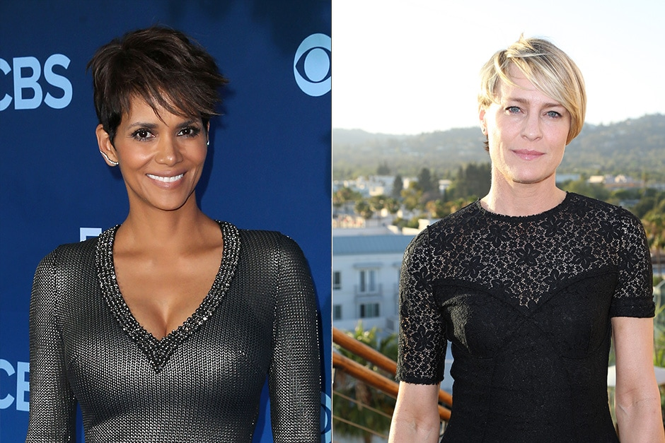 Halle Berry e Robin Wright: 1966
