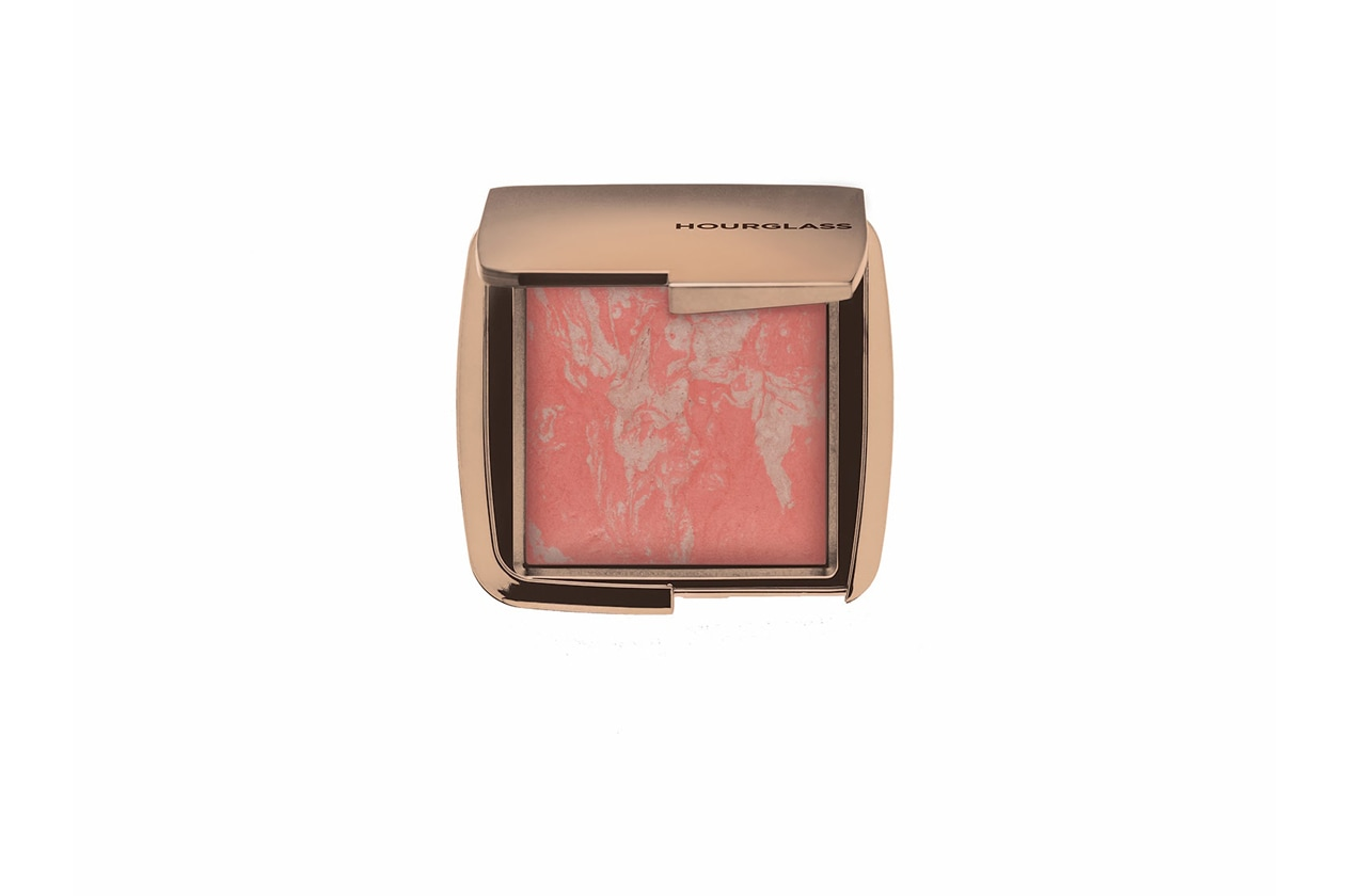 hourglass make up ambient lighting blush dim infusion