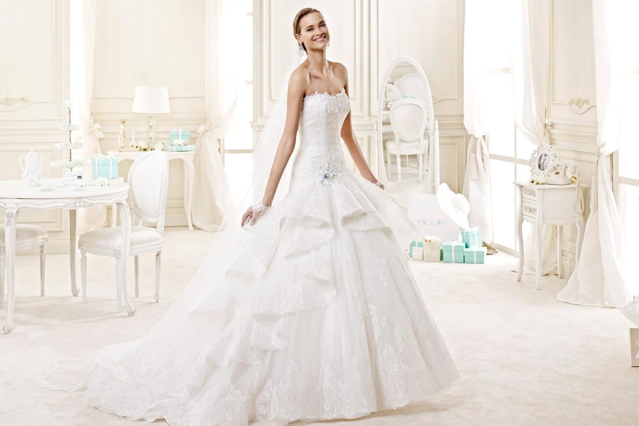 nicole spose NIAB15025IVTF Nicole moda sposa 2015 571
