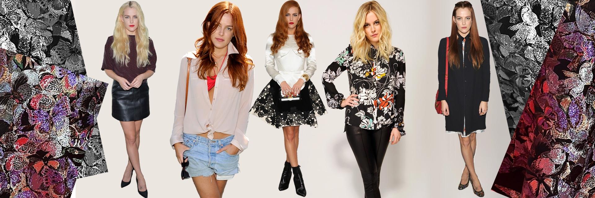 Riley Keough fashion icon della settimana