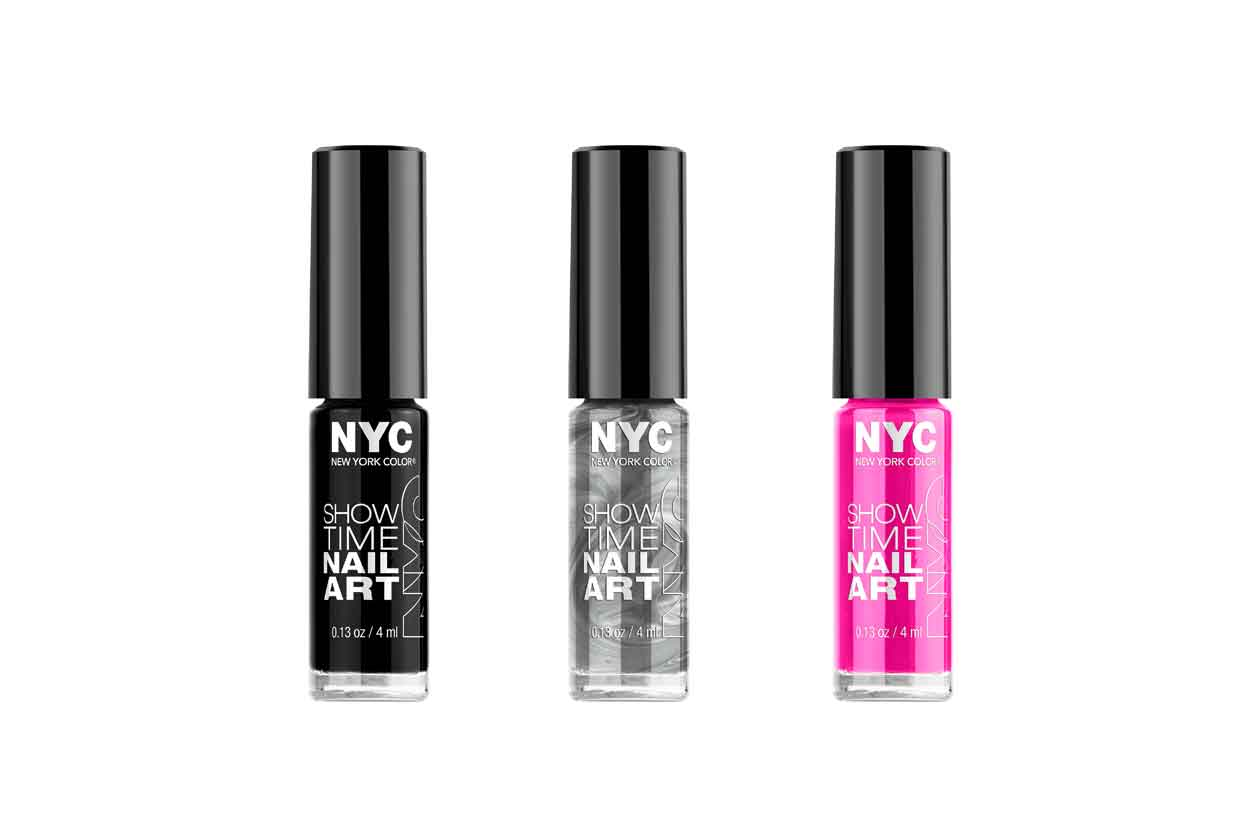 08 NYC Nail art polish