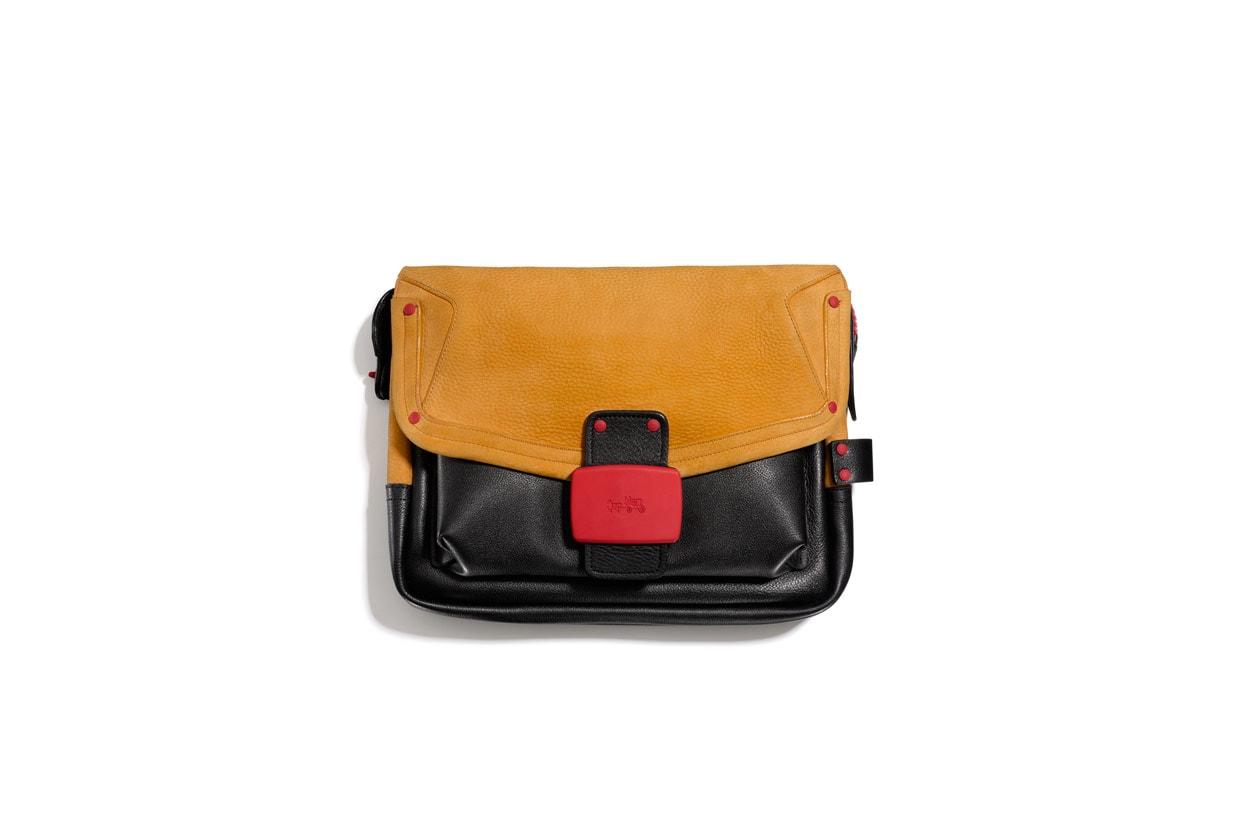 33920 Coach Fall14 Workwear Rhyder Flap Clutch