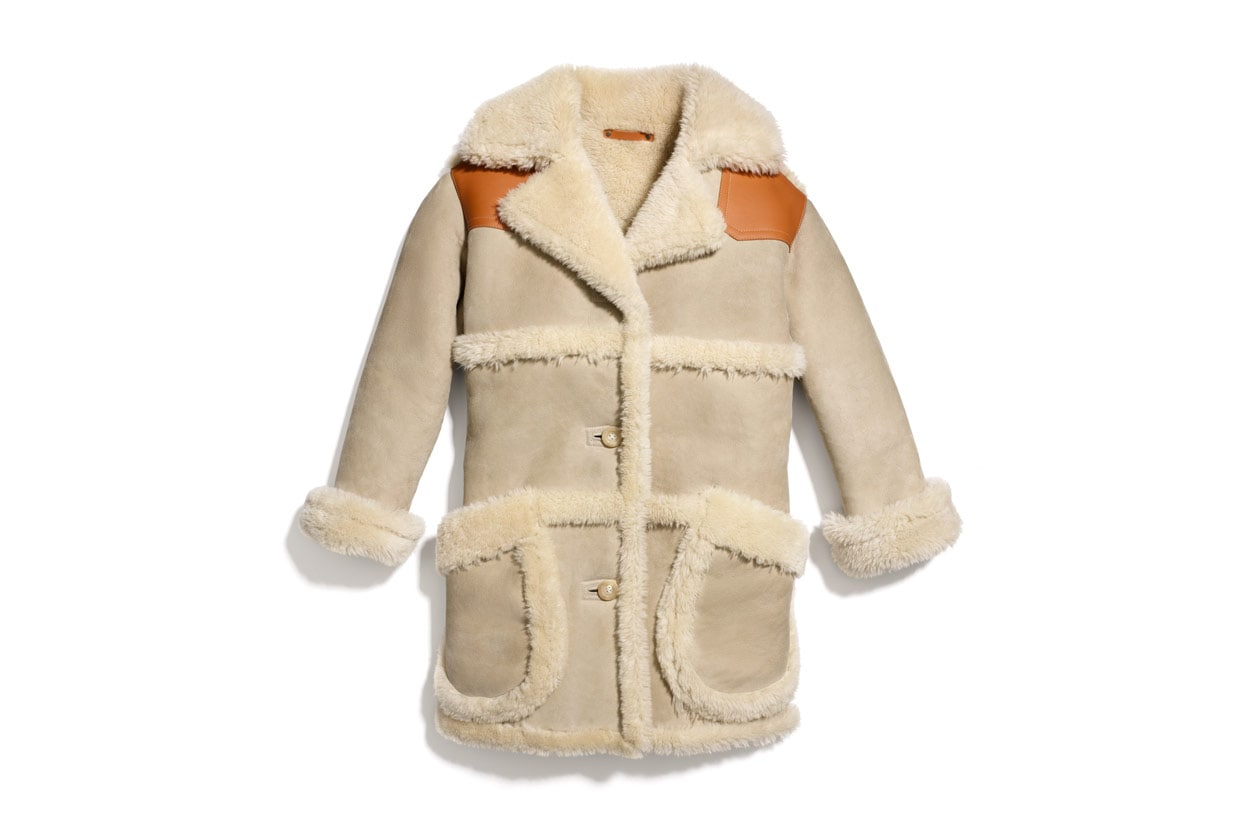 85486 Shearling Coat