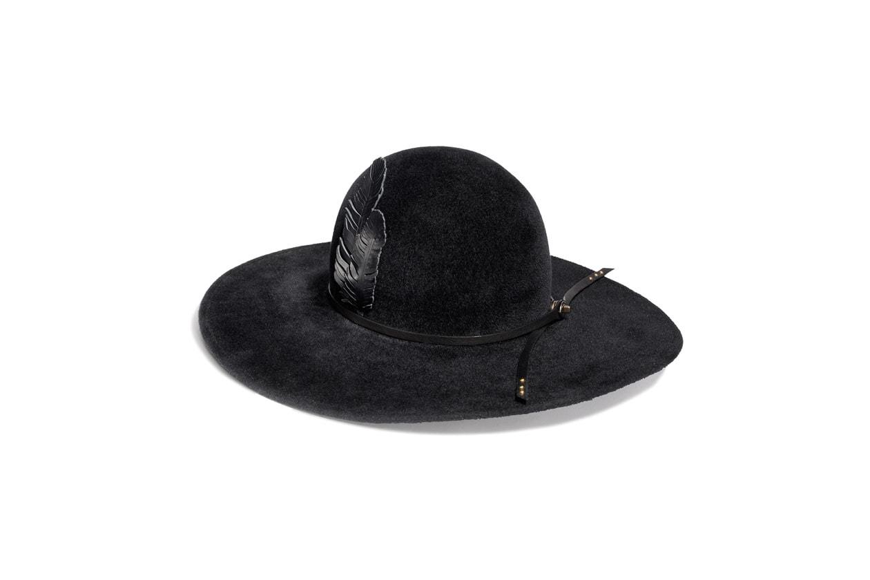 85515 Felt Hat w Leather Applique 230GBP