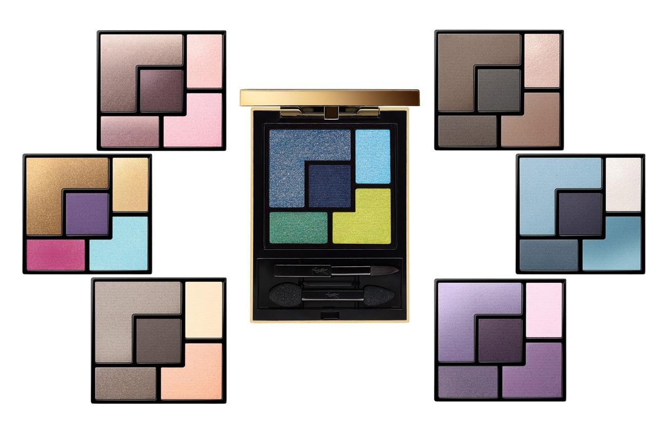 Accontentano tutti i gusti le Couture Palette Majorelle di Yves Saint Laurent per un trucco da vera diva