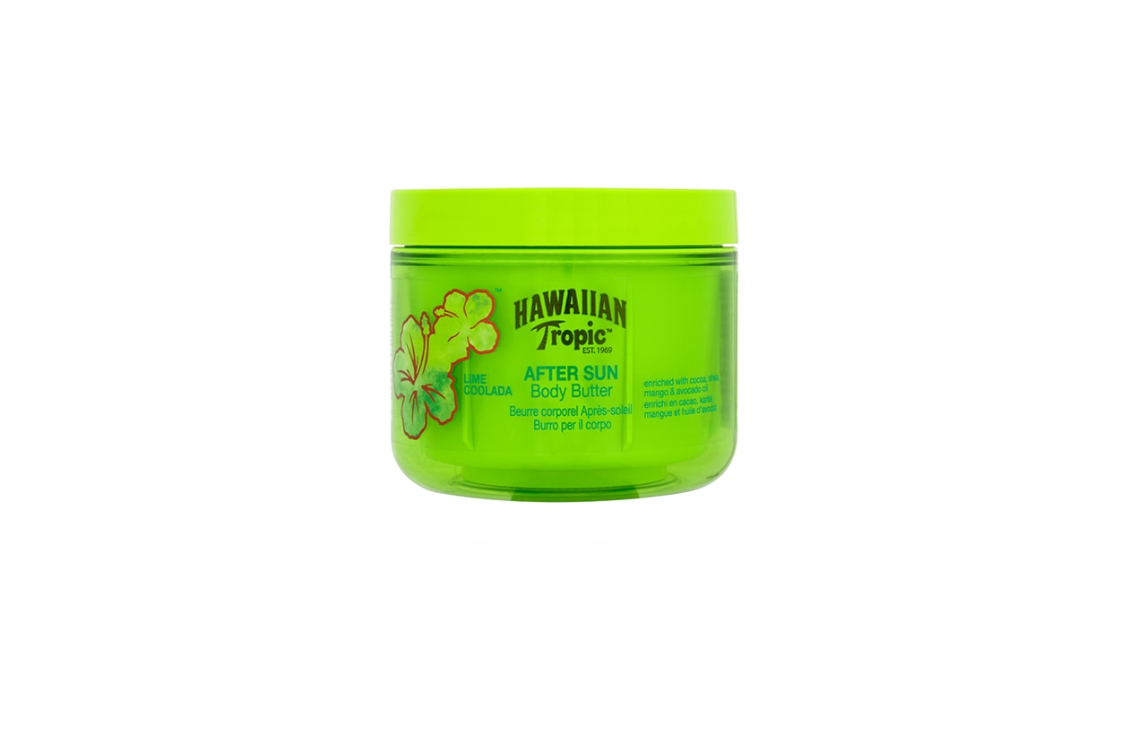 Beauty Mantenere abbronzatura Hawaiian Tropic Lime Coolada After Sun Body Butter 200ml 1382542040