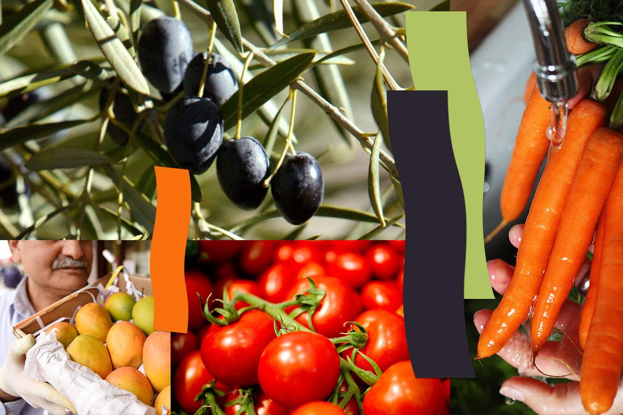 Beauty Mantenere abbronzatura frutta e verdure