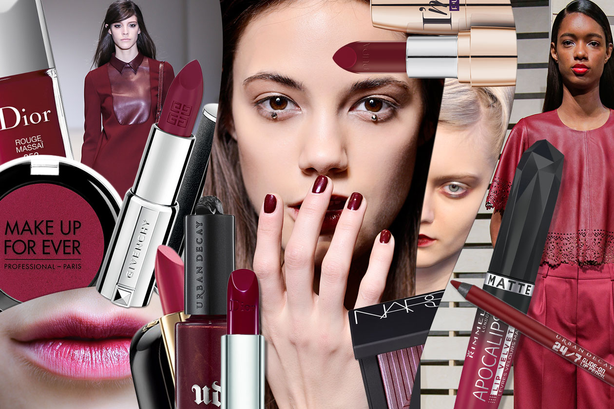 Beauty SANGRIA MAKE UP 00 cover collage