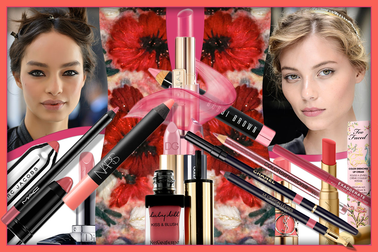 Beauty rosy lips 00 Cover collage