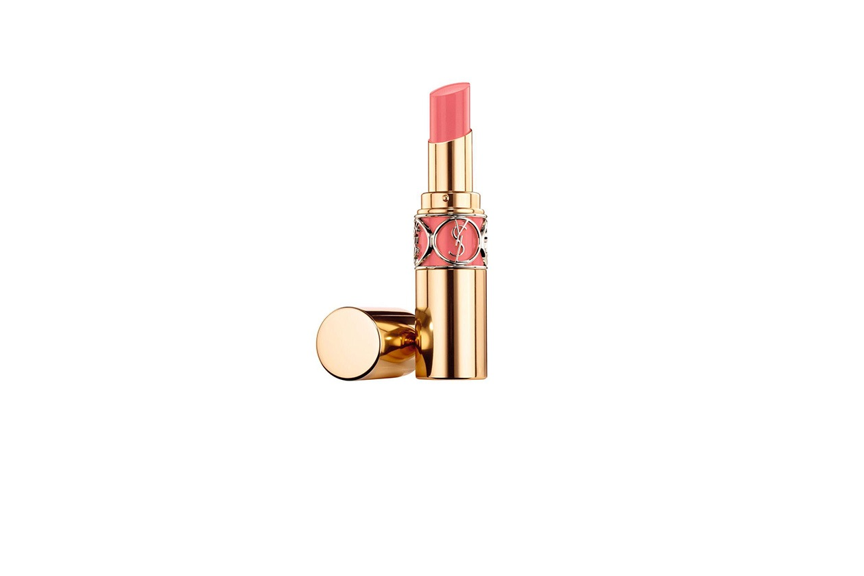 Beauty rosy lips Pink in paris YSL Rouge voluptä