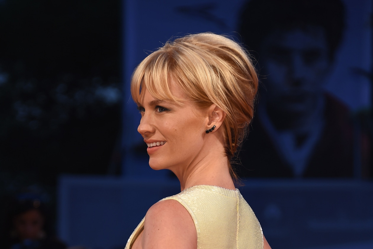 January Jones: 60s feeling