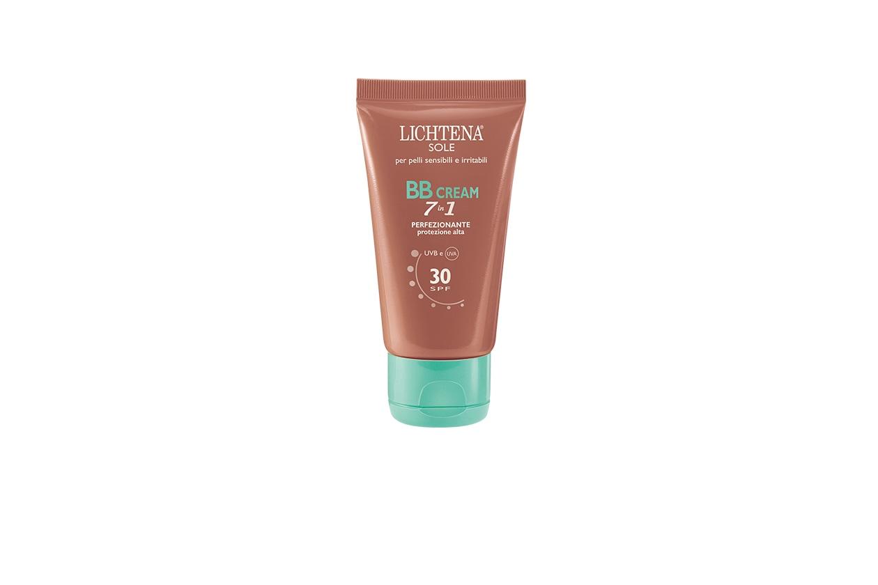 PERFEZIONATORE: Lichtena Sole BB Cream 7 in 1 è una crema colorata leggera; si stende molto velocemente e dona un incarnato naturale