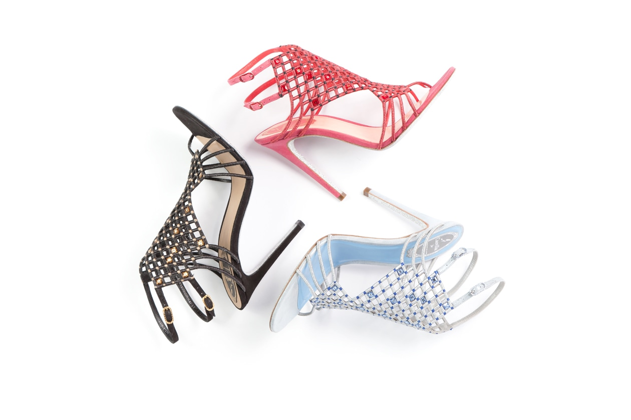 Rene' Caovilla exclusively for shoescribe
