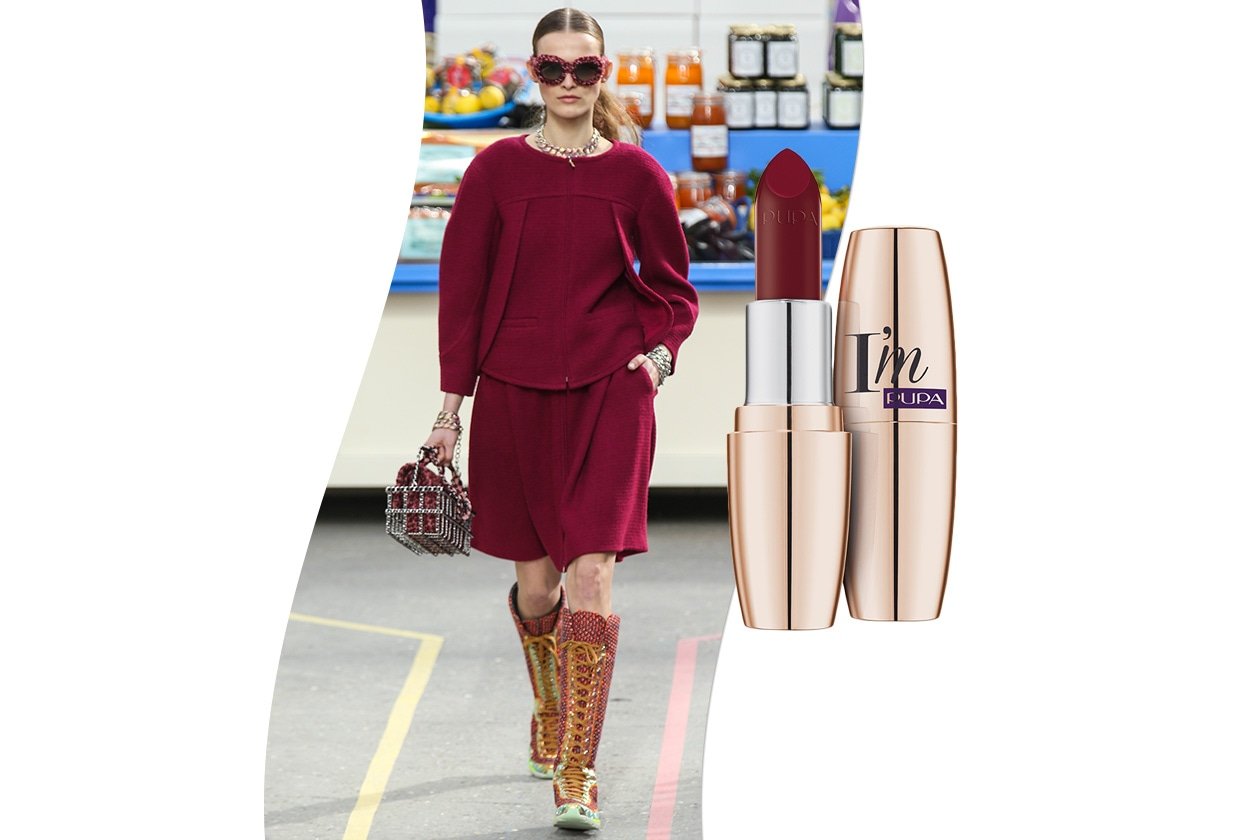 Sangria fashion & make up: Chanel e Pupa Paris Experience I'm Berry Violet 002