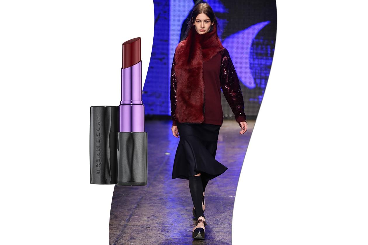 Sangria fashion & make up: DKNY e Urban Decay Pulp Fiction Revolution Lipstick Mrs Mia Wallace