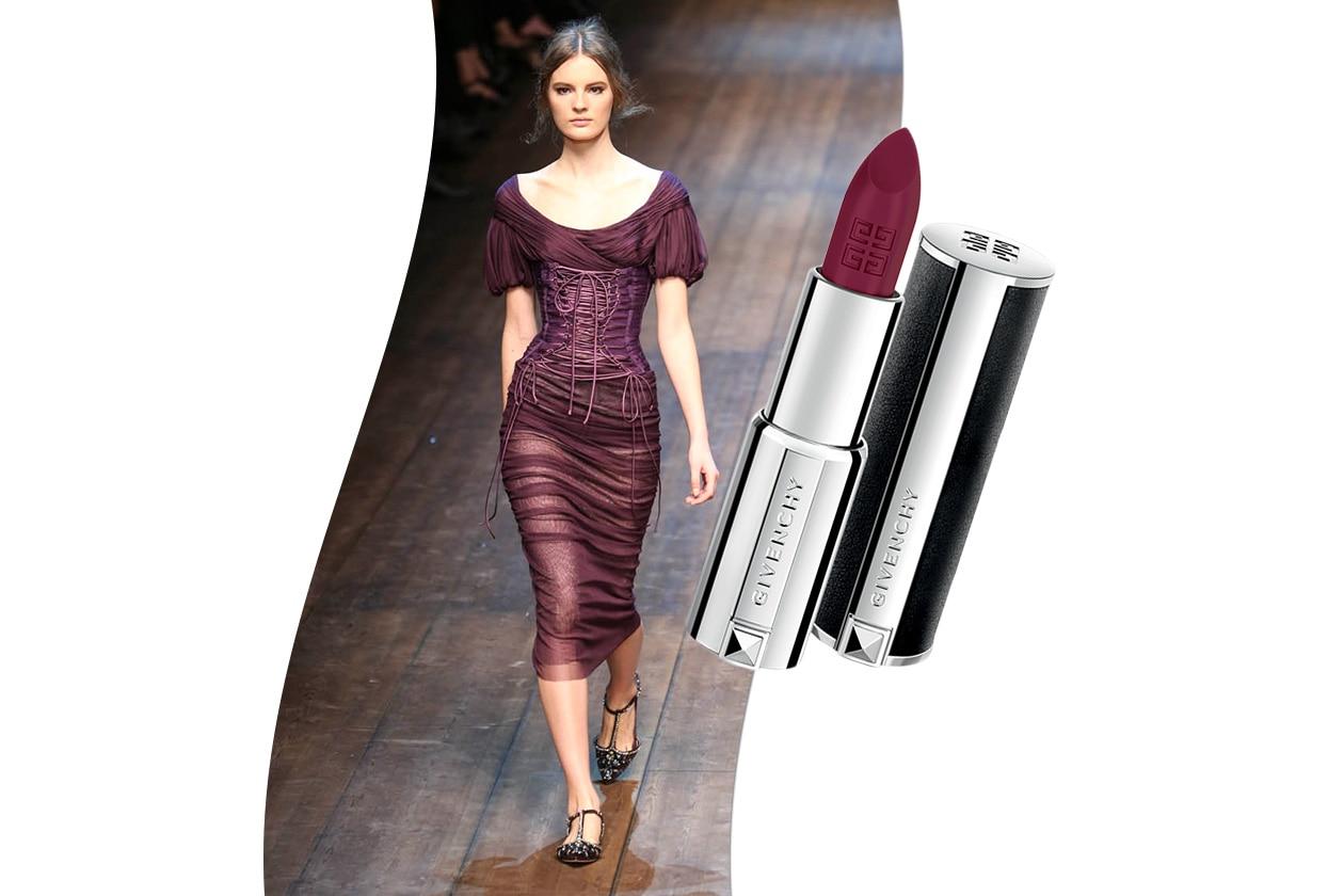 Sangria fashion & make up: Dolce & Gabbana e Givenchy Le Rouge Pourpre Inoui