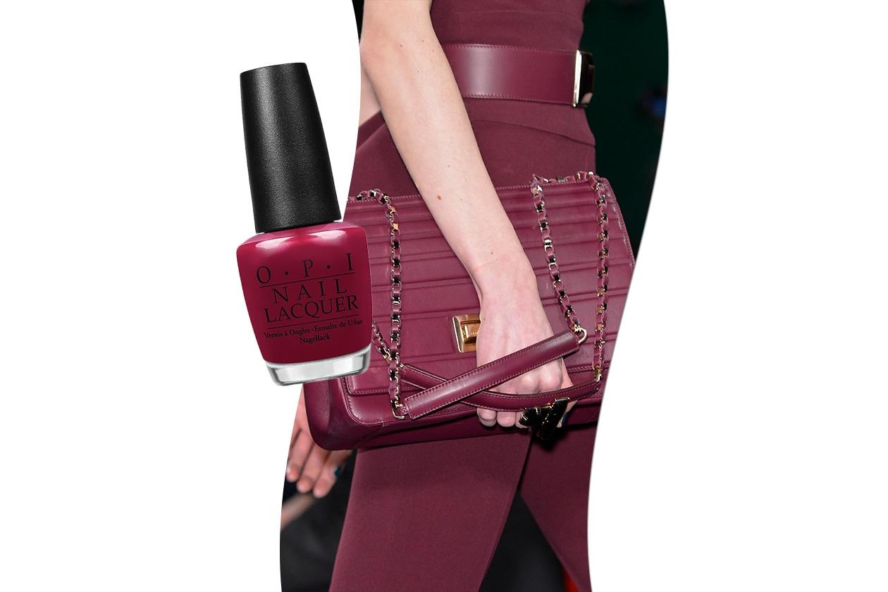 Sangria fashion & make up: Elie Saab e OPI Nordic Thank Glogg It's Friday