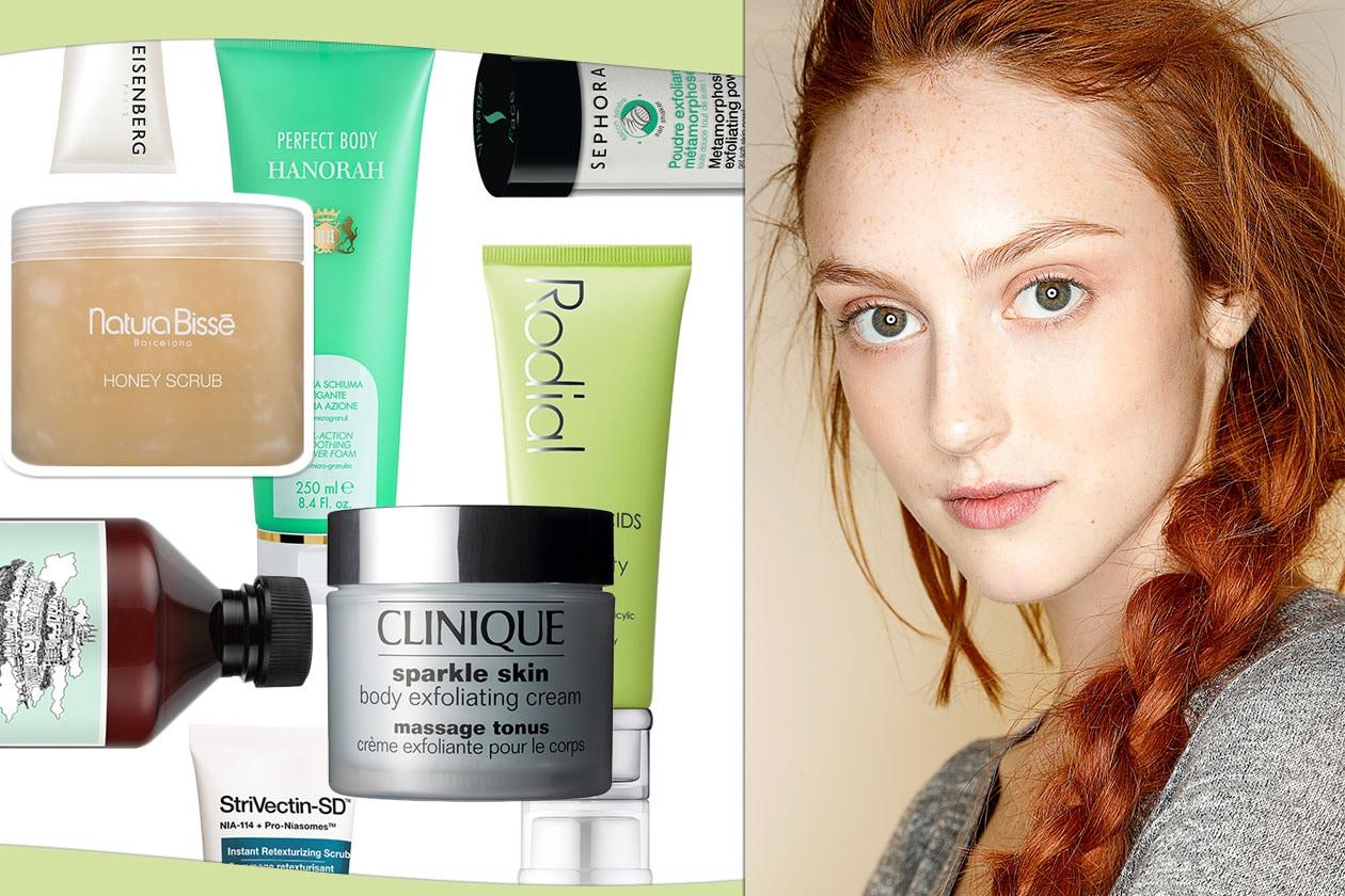 Scrub viso e corpo: scoprite come rinnovare la pelle con i prodotti giusti selezionati da Grazia.IT