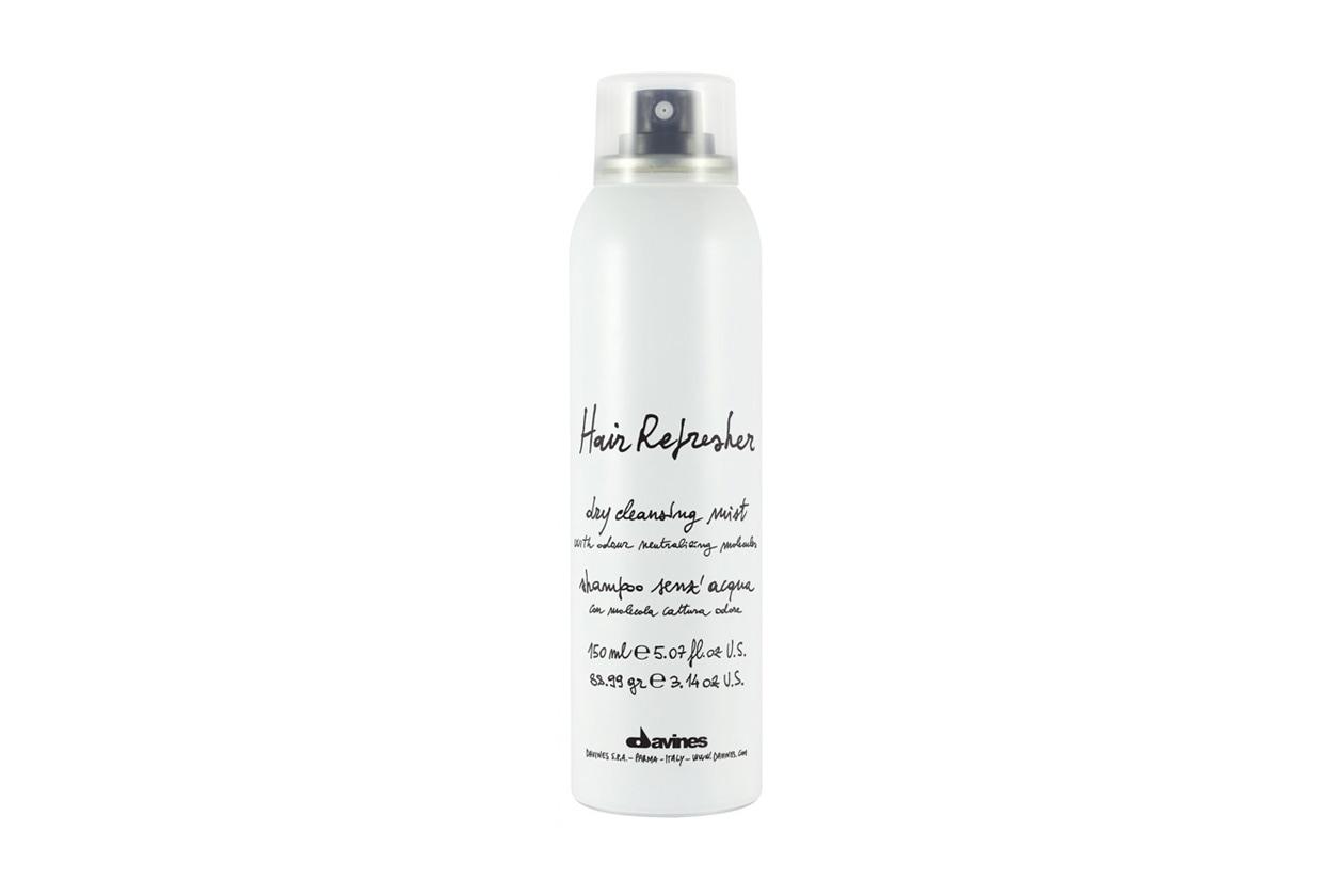 Shampoo secco: Davines Hair Refresher